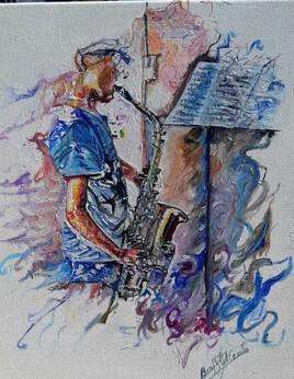 Mon saxophoniste