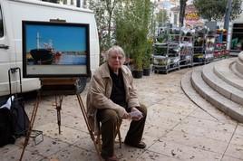 Claude Dubois exhibited in Marseille  クロード・デュボアは、ほとんどのギャラリーではなく、地面にマルセイユで展示しました