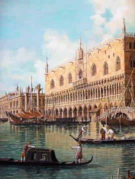 Venise - Le Palais des Doges (détail)