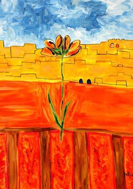 Fleur des murailles