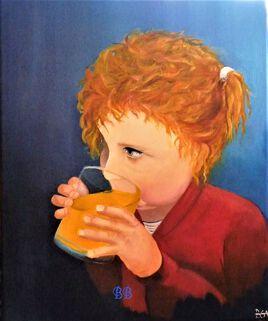 """""""Portrait Marie, 3 ans"""""""