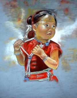 la petite indienne