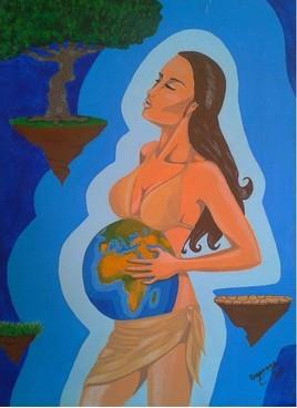 Gestation d'un monde.