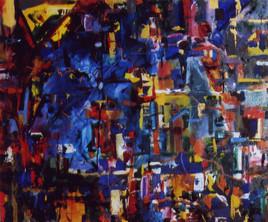 Improvisation - peinture abstraite