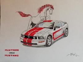 Mustang versus Mustang
