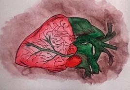 fraise ou coeur?