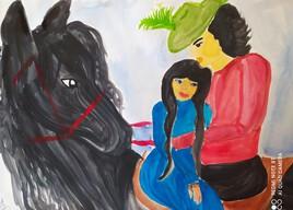 Bellinda chapitre VII aquarelle