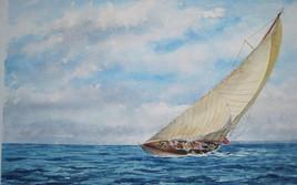 voilier sous le vent