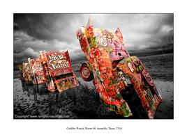 Route 66, Cadillac Ranch
