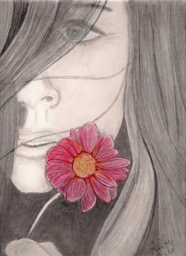 Regard fleuri