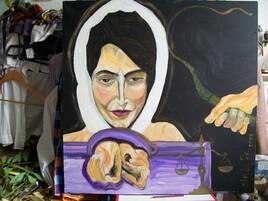 """"""" Toujours , le courage des femmes m'a espanté ... """" ( insp. de Nasrin Sotoudeh )"""