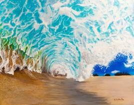 Sous la vague