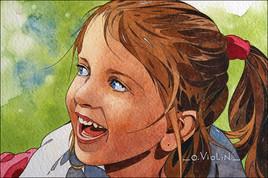 Portrait d'enfant n°7