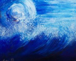 SOLEIL  BLANC -période bleue