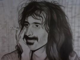 Portrait de Frank Zappa