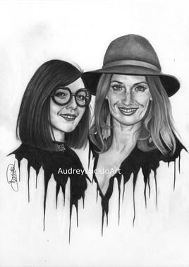 Portrait de Sylvie Hoarau et Aurélie Saada - Brigitte