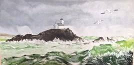le phare de Tevennec (Bretagne)