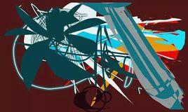 Peinture l'avion