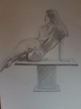 Sexy sur une table