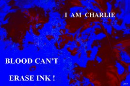 BLOOD CAN'T ERASE INK !