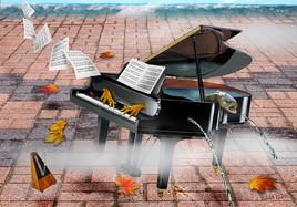 "FUITE POUR PIANO  ""La truite de Schubert"""