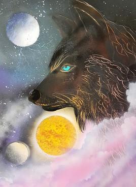Loup moderne