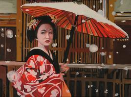 l ombrelle rouge