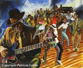 Blues bar - Ambiance rythmée
