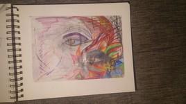 Oeil en couleurs