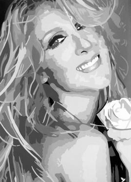 """Portrait  """" Céline Dion """""""