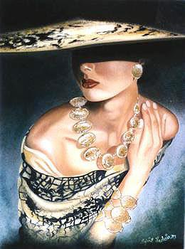 La dame dorée