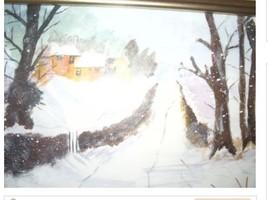 Matin sous la neige