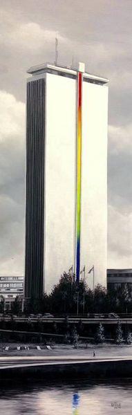 """""""L'Arc en Ciel du monolithe de Rouen"""""""
