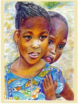 Sourires rencontrés au Bénin par Dominique
