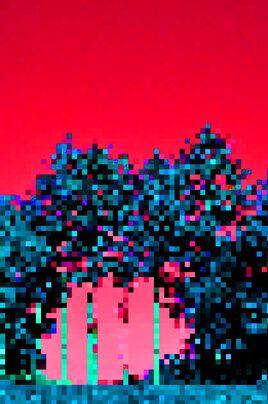 TREES  PIXELS MODIFIE