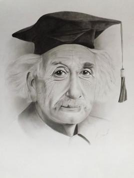 Portrait Albert EINSTEN