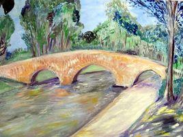 le pont des trois yeux entre Vias et Agde