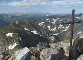 AU sommet du mont Valier 2838m