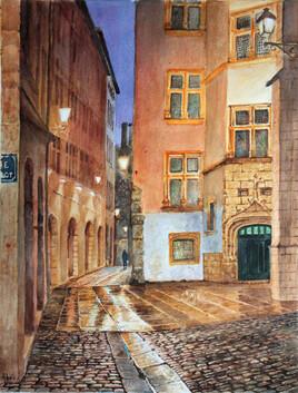 Rue et Musée Gadagne (Lyon)