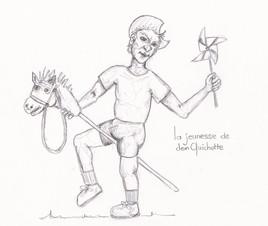 La jeunesse de Don Quichotte