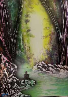 Forêt zen