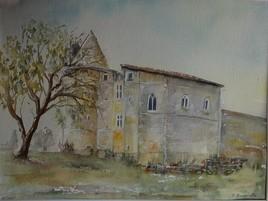 Le château de Bouvées (Gers)