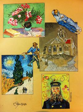 un Van Gogh en petits mots
