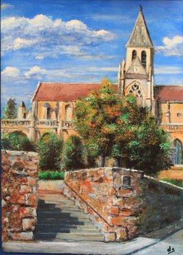 Eglise de Triel sur Seine, Yvelines... ma ville....
