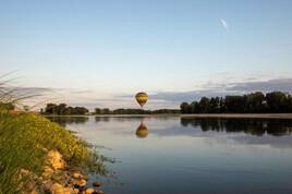 La Loire et la montgolfière