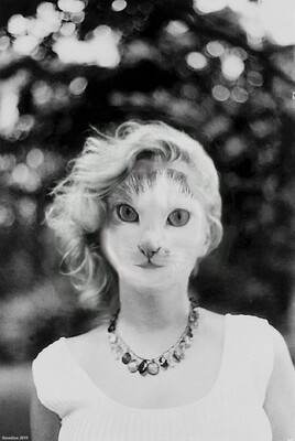 Mioumiou en Marilyn au naturel :)
