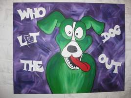 Who let the dog out