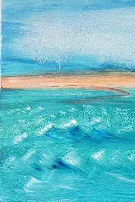 Caresse de vent sur l'océan