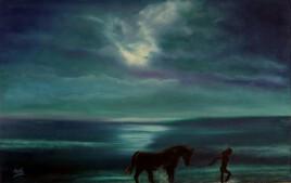 La Femme et le cheval