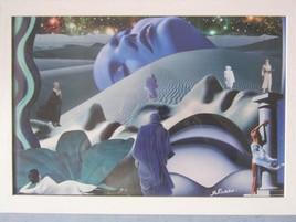 Les dunes bleues